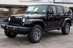 2015 Stock Jeep Wrangler Rubicon Unlimited Black