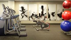 Great Home gym.