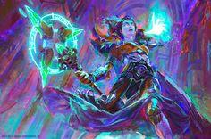 World of Warcraft - Undead Mage by MartaNael.deviantart.com on @DeviantArt