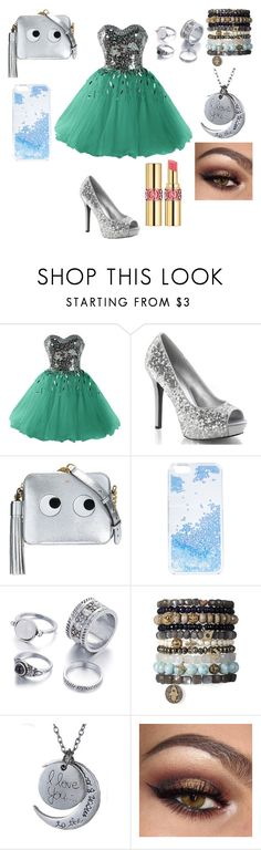 """""""A casual prom look"""" by missheru ❤ liked on Polyvore featuring Anya Hindmarch, Skinnydip and Yves Saint Laurent"""