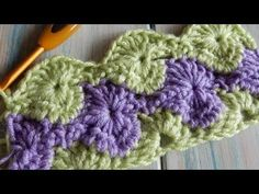 Learn To Crochet Catherine Wheel StarBurst Stitch - ilove-crochet