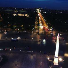 Au-dessus de #Paris #granderoue #granderouedeparis