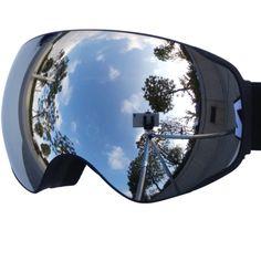 fe665dc5b6d best ski goggles  5. Zionor Lagopus Snowmobile Snowboard Skate Ski Goggles