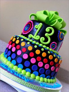 31 Lovely Birthday Cake Ideas For 13 Yr Old Boy Neon Cakes