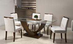 mesas de comedor para 6 personas modernas - Buscar con Google