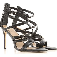 Find Guess Shoes and Sneakers designed by Marciano. Guess Women's Shoes are from the Current Collection. Women's Sandals, Strap Sandals, Fashion Details, Fashion Design, Guess Shoes, Stiletto Heels, Bae, Peep Toe, Jumpsuit
