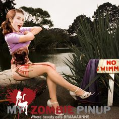 Halloween: Zombie Pin Up
