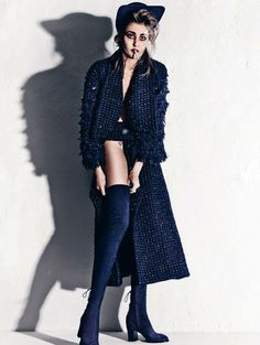 Nadja Bender by Hasse Nielsen for Dansk Magazine Fall/Winter 2013/2014 | The Fashionography