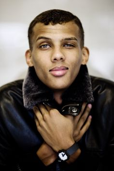 Stromae  his eyes ...can we just....!