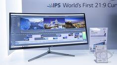 曲面螢幕與 4K 解析度,LG 在 IFA 展示多款新品 - http://chinese.vr-zone.com/126576/lg-show-34uc97-34uc87-curved-monitor-and-4k-31mu97-in-ifa-09072014/