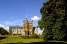 Houston House, Renfrewshire, Scotland, incorporates the original Houston Castle.  This is one of my ancestral families.