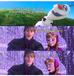 Haha one of my favorite parts of Frozen! Frozen Love, Anna Frozen, Disney Frozen, Frozen 2013, Frozen Heart, Disney And Dreamworks, Disney Pixar, Anna Kristoff, Disney And More