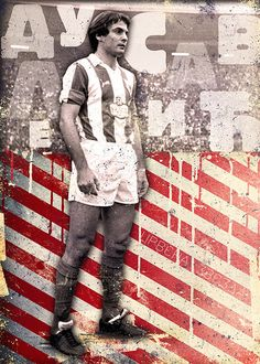Dule Savic by Marija Markovic Football And Basketball, Soccer Players, Red Star Belgrade, Graphic Design Posters, World, Legends, Behance, Fictional Characters, Sport