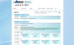 Conference Schedule Layout  Google Search  Layout