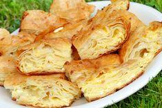 Bajadera Recipe, Gibanica Recipe, Kiflice Recipe, Fast Easy Dinner, Fast Dinner Recipes, New Recipes, Cooking Recipes, Bosnian Recipes, Croatian Recipes