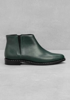 & Other Stories | Leather Low-Ankle Boots