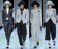 awesome Emporio Armani Fall/Winter 2015 Collection – Milan Fashion Week