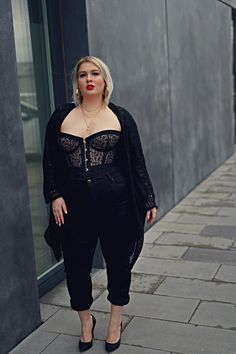 Trendy Plus Size Fall Outfits Ideas 29 Curvy Outfits, Mode Outfits, Fall Outfits, Plus Size Fashion For Women, Plus Size Women, Plus Fashion, Womens Fashion, Fashion Stores, Fashion Fall