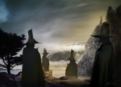 Ghost Stories: The Dark Watchers. These are shadowy spirits seen on the Santa Lucia Mountains in California. Their exact origins are unknown but the Chumash Indians were among the first to witness them & drew them on cave walls.