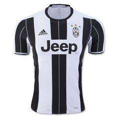 adidas Men's Juventus Authentic 16/17 Home Jersey White/Black