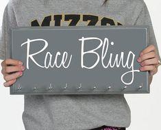 Race Medal Holder - Running Medal Display Rack - Race Bling on Etsy, $36.50