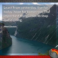 Quote for the day – Albert Einstein