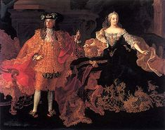 A doppelporträt of Francis Stephen and his wife Maria Theresa, by Peter Kobler von Ehrensorg