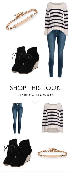 """""""Casual"""" by adriana03182003 ❤ liked on Polyvore featuring Velvet by Graham & Spencer, WithChic and Hoorsenbuhs"""