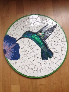 Best 12 Hummingbird (also available as an iPhone case) by Leslie Guinan – SkillOfKing. Mosaic Stepping Stones, Stone Mosaic, Mosaic Glass, Mosaic Animals, Mosaic Birds, Mosaic Artwork, Mosaic Wall Art, Mosaic Crafts, Mosaic Projects