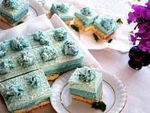 Fot. Olkka, Smerfne ciasto