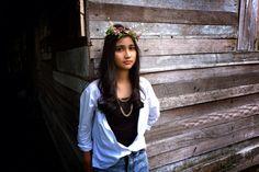 Fashion Model : Dina syafitri Location : Pekanbaru - Riau