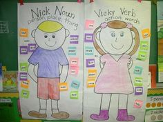 nick noun and vicky verb