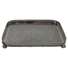 Check out this item at One Kings Lane! Rectangular Victorian Tray, C.1870