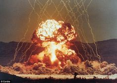 1950s nuclear testing | ... nuclear explosions were set off in a series of tests in the 1950s
