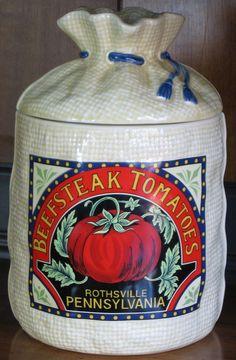 Beefsteak Tomatoes, Rothsville, Pennsylvania - Canister (Flour)