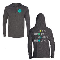 4-H pledge fitted hoodie
