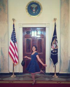 Awesome Lana the #WhiteHouse #WashingtonDC #BetterMakeRoom @ReachHigher Friday 1-6-17