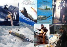 Έλληνες σε ξένα κόκπιτ: Η Ζωή και η επιχειρησιακή δράση των ελληνικής καταγωγής πιλότων καταδιωκτικών με την USAAF και τη RAF, 1940-1945