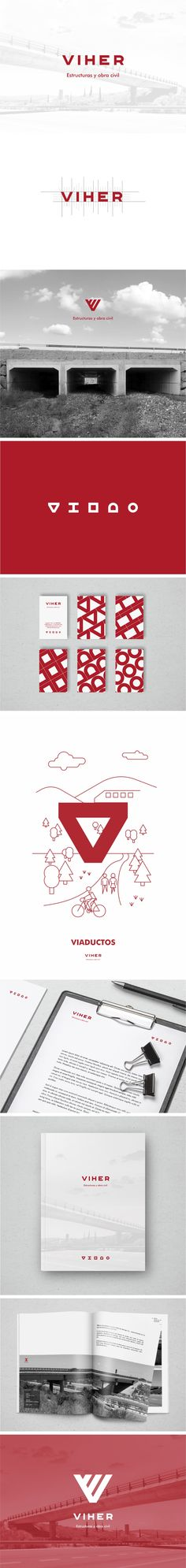 Viher Construction | Identidad