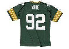 Green Bay Packers Reggie White 1996 Home Jersey - Sportsfan