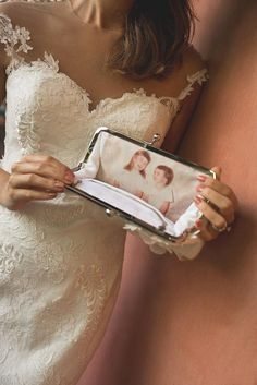 Carry a treasured memory on your special day.