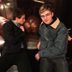 Brandon Flynn & Miles Heizer