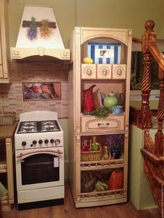 1 million+ Stunning Free Images to Use Anywhere Decoupage Furniture, Upcycled Furniture, Painted Furniture, Kitchen Set Up, Kitchen Design, Free To Use Images, Mural Painting, Little Houses, Paint Designs