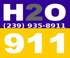 Call H2o911 Restoration today on any water damage or mold removal.