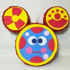 Toodles Mickey Mouse, Mickey Mouse Pinata, Mickey Mouse Party Supplies, Mickey Mouse Theme Party, Minnie Mouse Pink, Mickey Head, Mickey Mouse Ears, Mickey Mouse Birthday, Star Pinata