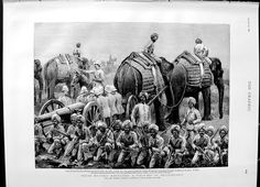 HYDERABAD Once upon a time !: 1892 Indian Military Field-Day Secunderabad Elephants