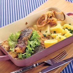 Kapor po francúzsky Fish, Meat, Chicken, Pisces, Cubs