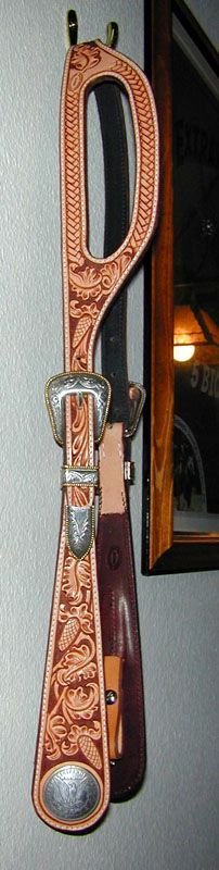 Set hilason WESTERN AMERICAN LEATHER Cheval éperons Breast collar TAN ROSE C