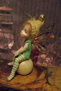 original FaeWee* tiny fairy/wee people Dolls sculpted from polymer clay