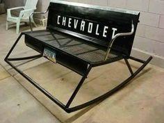 Redneck bench
